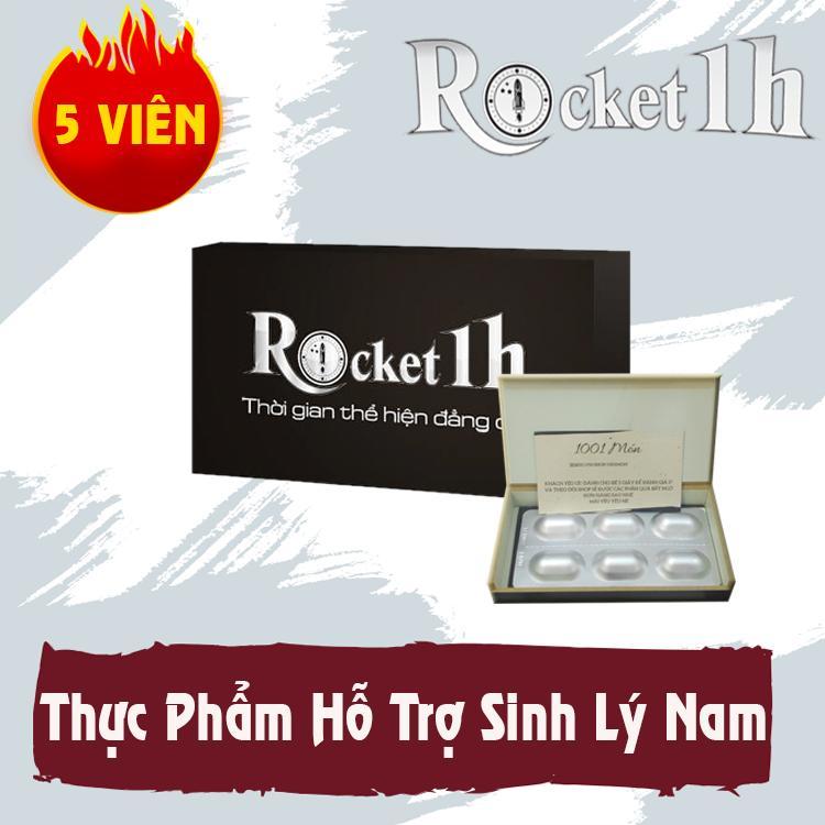 5 viên rocket 1h - tăng cường sinh lực cho phái mạnh (Có che tên sản phẩm)
