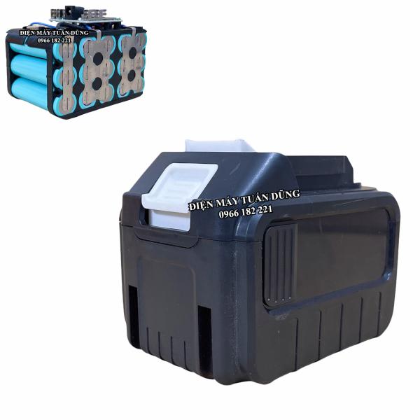 Pin 15 cell xanh lisen chân pin Makita 4 cm phổ thông dùng cho máy siết bulong máy khoan máy bắt vít máy mài góc