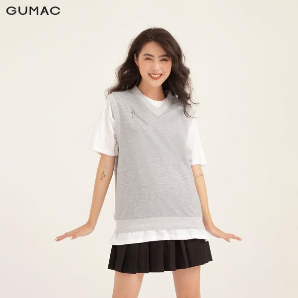 Áo ghi lê nữ thiết kế phối khóa trẻ trung, cá tính AB1158 màu xám Freesize, chất liệu vải thun cotton cao cấp, dễ phối đồ+ phù hợp nhiều hoàn cảnh+ có hỗ trợ đổi hàng