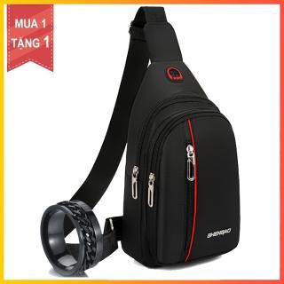 Túi đeo chéo thể thao tặng nhẫn thời trang thumbnail