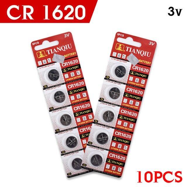 Giá combo 2 vĩ Pin nút CR1620 (vĩ 5 viên)