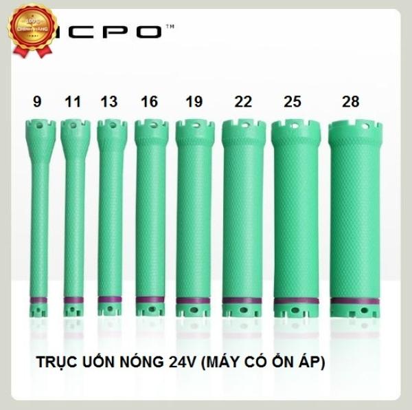 Combo 10 trục xương uốn nóng 24v (xanh lá) cao cấp