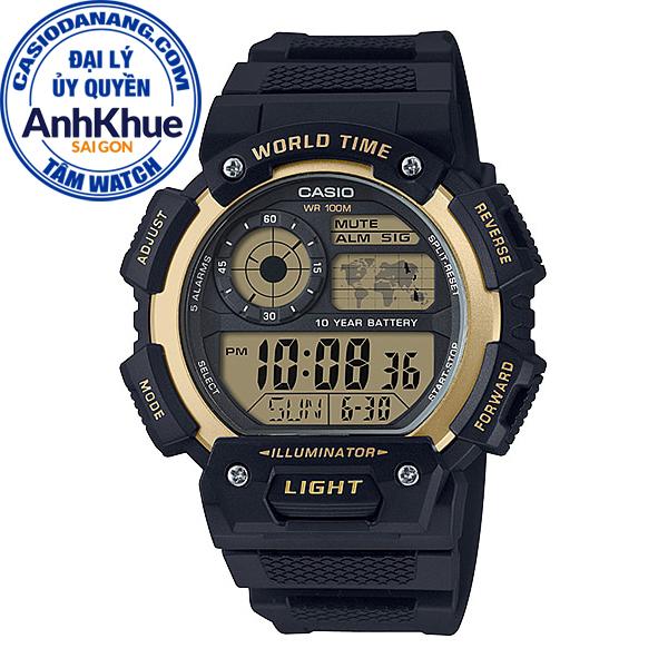 Đồng hồ nam dây nhựa Casio Standard chính hãng Anh Khuê AE-1400WH-9AVDF (51mm)