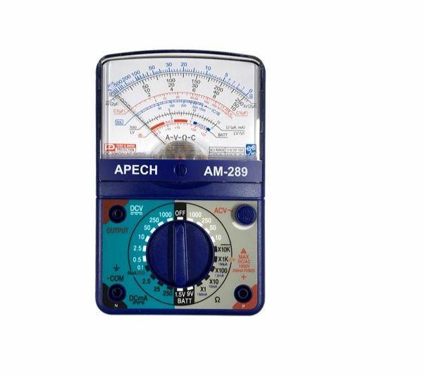 Đồng hồ đo vạn năng hiện kim Apech AM-289 chuẩn Đài Loan