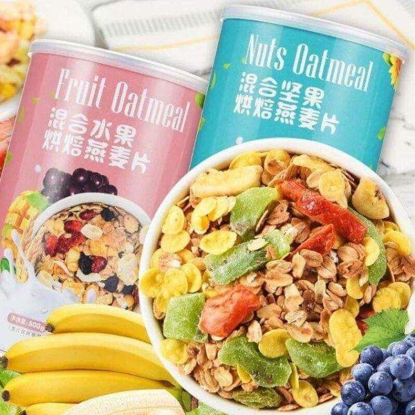 Ngũ Cốc Yến Mạch Mix hoa quả/ các loại hạt