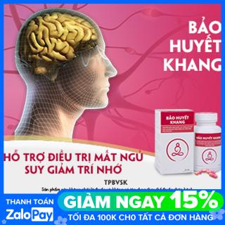 Bảo Huyết Khang - Bộ 5 hộp x60 viên - lưu thông khí huyết, tăng cường máu não, giúp ngủ ngon thumbnail