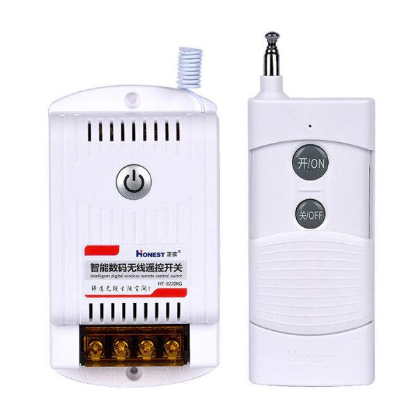 Bộ điều khiển từ xa bật tắt thiết bị điện công suất lớn CHÍNH HÃNG HONEST HT-9220KG 40A khoảng cách 1KM có chức năng học lệnh