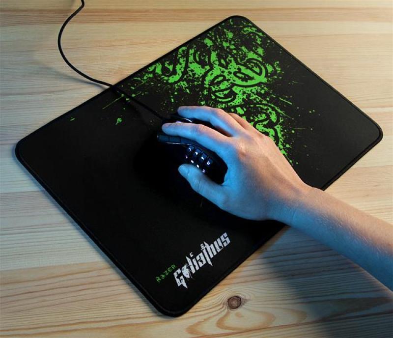Giá Bàn di chuột, lót chuột, mouse pad RAZZZER  32cm x24cm dày 4 ly khâu viền