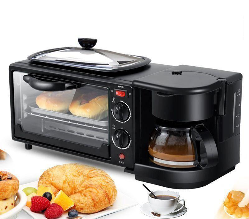 Bảng giá Lò nướng kiêm máy pha cà phê KZC-9L-K-Tiết kiệm điện-Nướng chín đều nhanh (Đen) Điện máy Pico