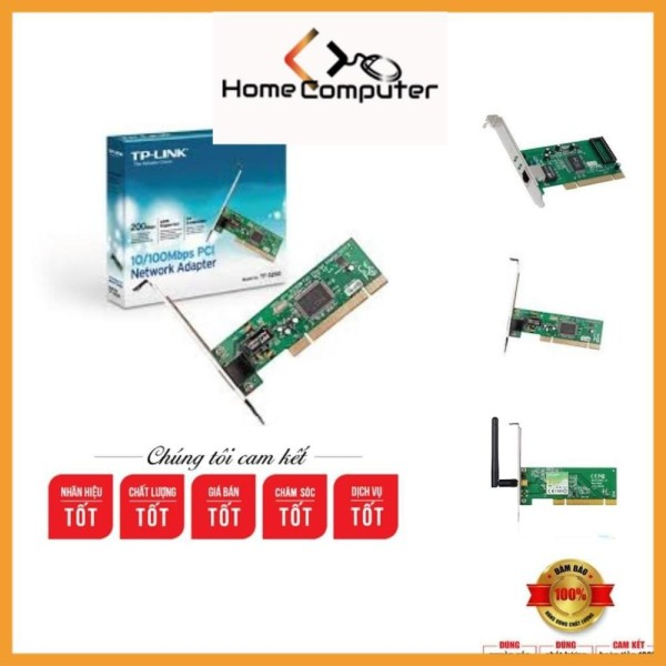 Bảng giá Card mạng tplink ,card lan tp-link mạch dài. bảo hành 6 tháng.Home computer Phong Vũ