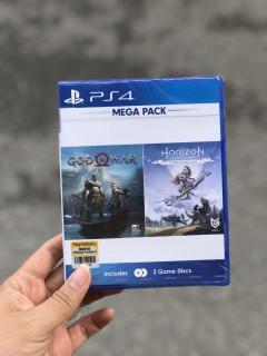 [Nhập ELJAN2 giảm đến 200k cho đơn 99k] Đĩa Game PS4 Mega Pack God Of War+ Horizon Zero Dawn Complete Edition thumbnail