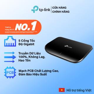 Bộ Chia Tín Hiệu TP-Link TL-SG1005D Switch Gigabit 5 cổng RJ45 10/100/1000 Mbps- Hãng phân phối chính thức