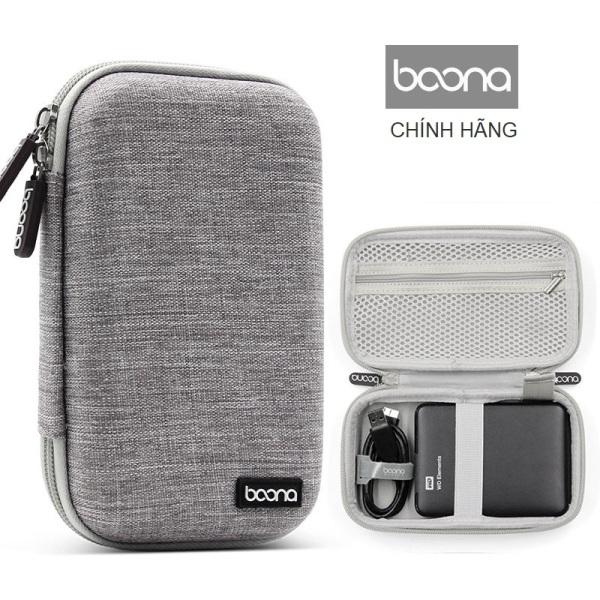Bảng giá Túi bảo vệ ổ cứng di động WD 2.5  cáp sạc điện thoại phom cứng chống sốc hãng Baona (Boona) F010 Phong Vũ