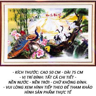 Tranh đính đá 5D - Vạn Sự Như Ý 27 - Tranh Minh Hiền (TỰ ĐÍNH ĐÁ) thumbnail