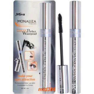 Mascara Mira Monaliza Làm Dài Và Cong Mi Không Lem, Không Trôi 9ml thumbnail
