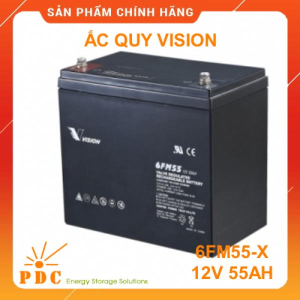 Bảng giá Ắc quy VISION 12V 55Ah 6FM55-X Phong Vũ