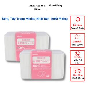 Bông Tẩy Trang Miniso Nhật Bản 180 Miếng - 1000 Miếng thumbnail