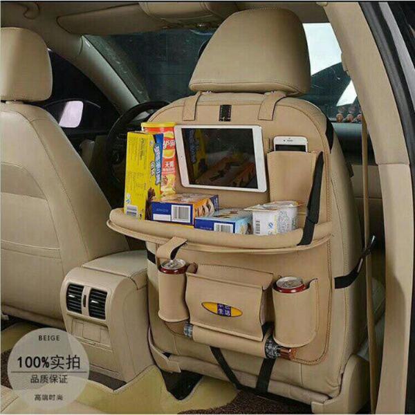 Túi đựng đồ treo sau ghế Ô tô da PU cao cấp- túi đựng đồ sau ghế