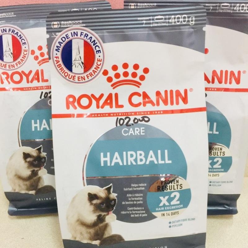 400gr Thức ăn hạt royal canin Hairball cho mèo, chất lượng đảm bảo an toàn đến sức khỏe người sử dụng, cam kết hàng đúng mô tả