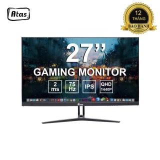 [Có video] Màn Hình Máy Tính Gaming 27 inch ATAS - Độ phân giải 2K - Tấm nền IPS - Tấn số 75HZ - Bảo Hành 3 Năm thumbnail