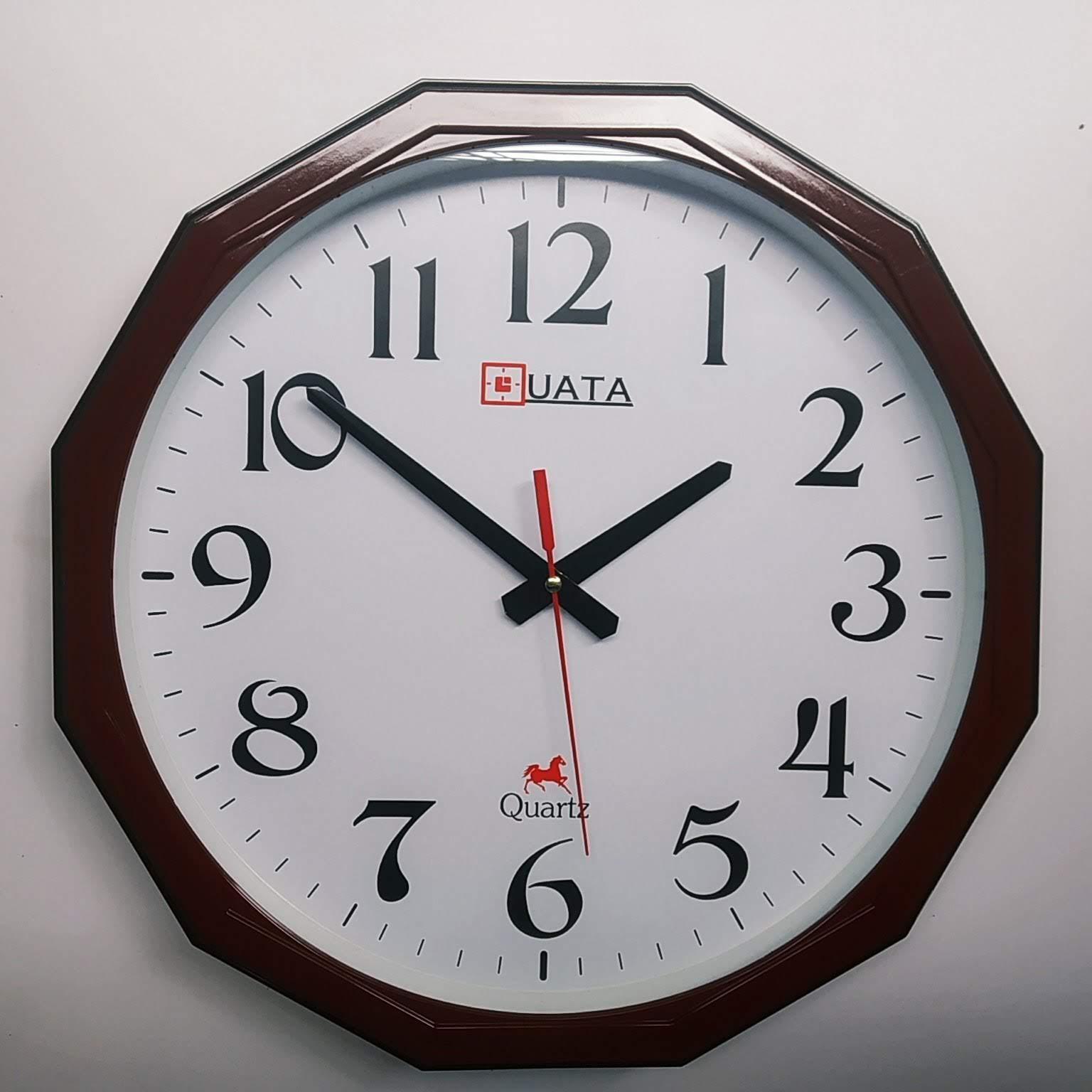 Nơi bán Kim trôi - Đồng hồ treo tường cao cấp - Size lớn 40cm -  Đồng hồ treo tường kim trôi