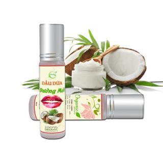 Dưỡng Môi Dầu Dừa Organic giảm thâm môi - Henashop 10ml thumbnail