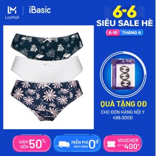 Combo 3 quần lót nữ thun poly mềm mại iBasic PANY083 thumbnail