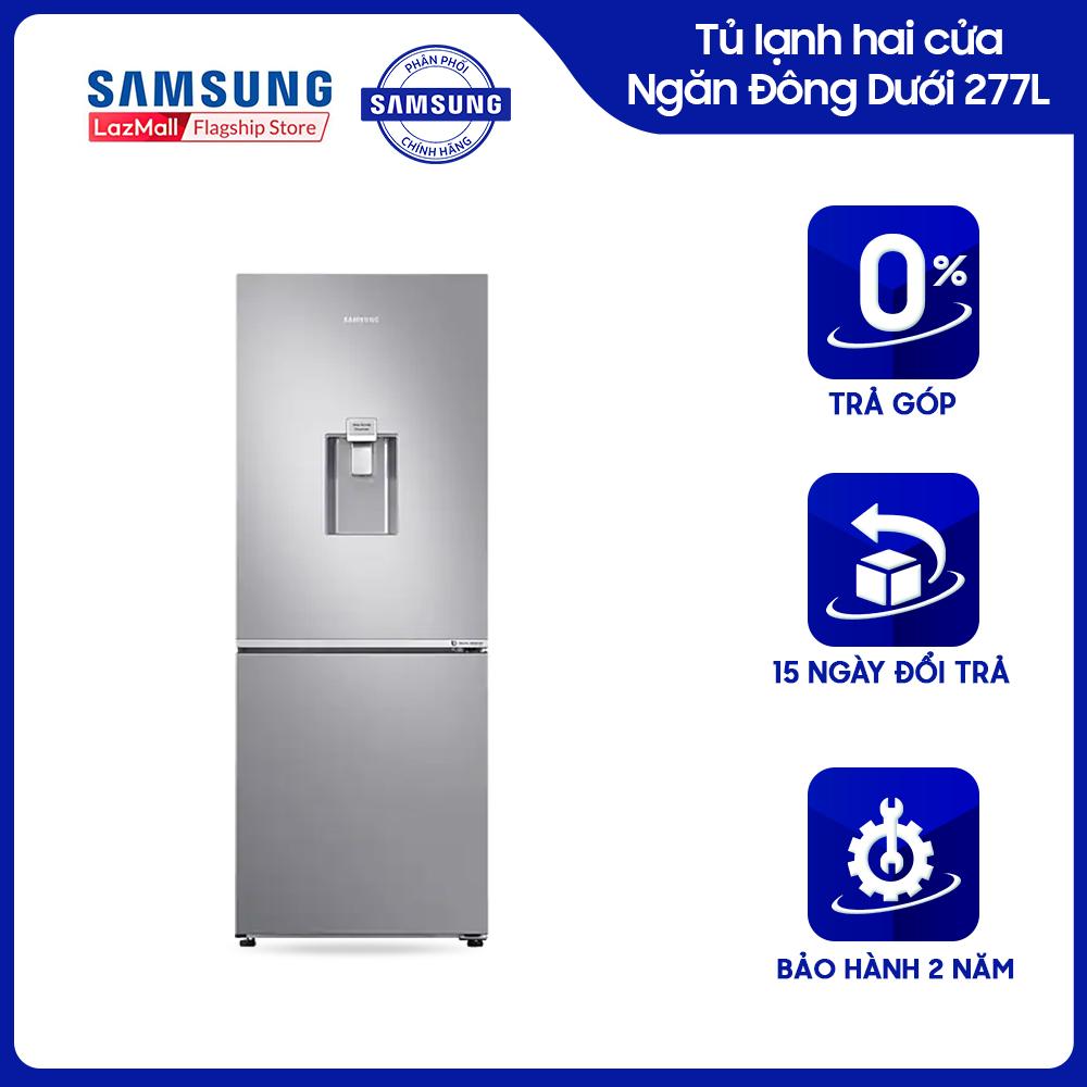 [Trả góp 0%]Tủ lạnh hai cửa Ngăn Đông Dưới Samsung 277L (RB27N4170S8/SV) - REF