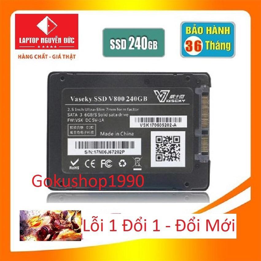 Giá Ổ Cứng Vasekey-V800 240gb SSD chuẩn 2.5 Sata 3 - Hàng Mới Bảo Hành 3 năm