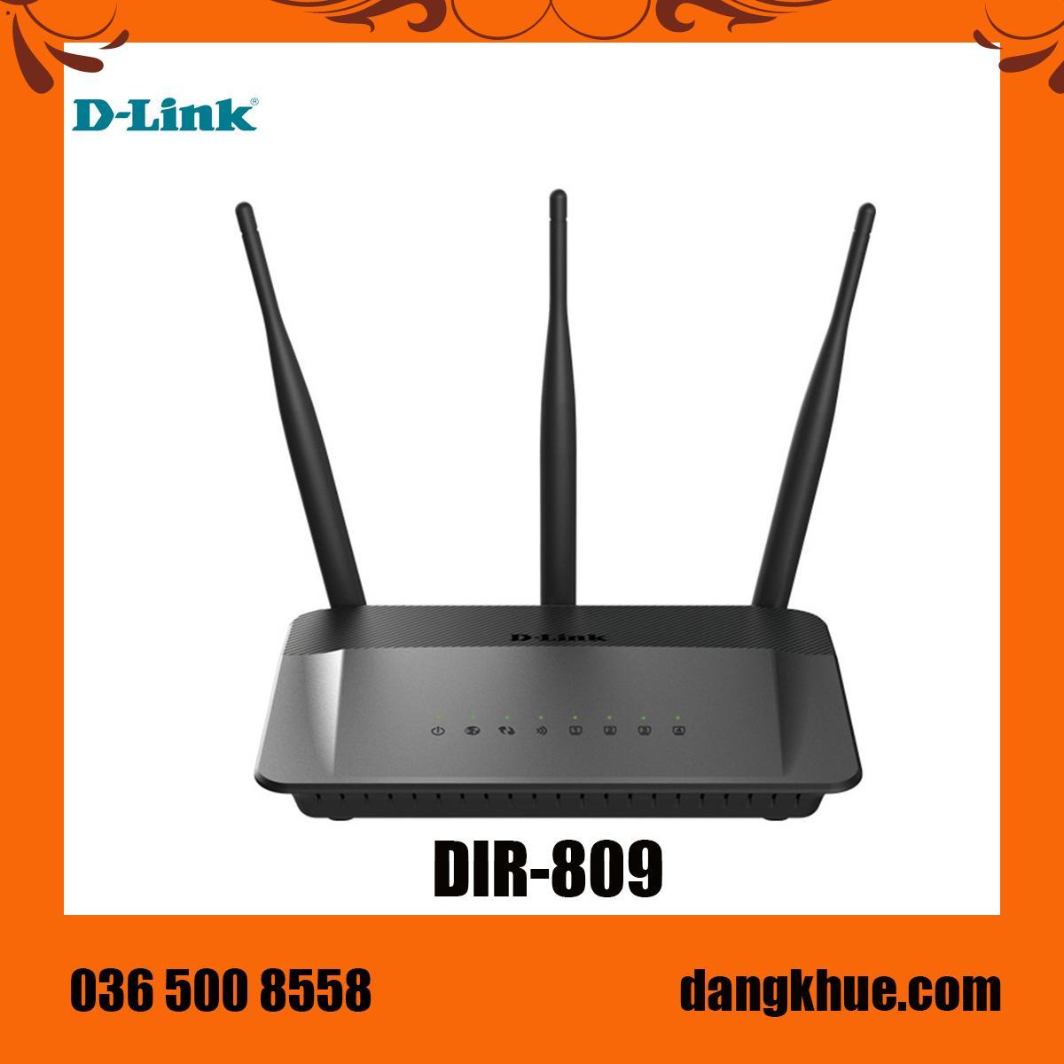 Giá Bộ phát wifi D-Link DIR-809