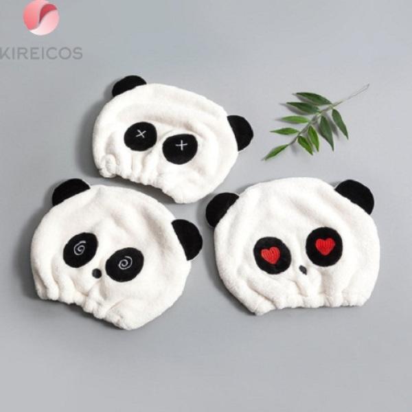 Mũ Nón Trùm Ủ Tóc Nhanh Khô Hình Panda – Họa Tiết Ngẫu Nhiên giá rẻ