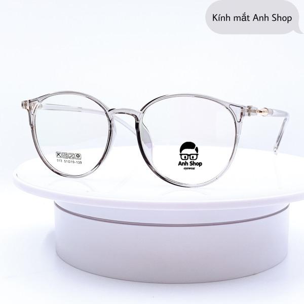 Giá bán Gọng kính tròn kính tròn kính thời trang 513 hottrend Anh Shop nhận cắt mắt cận viễn loạn