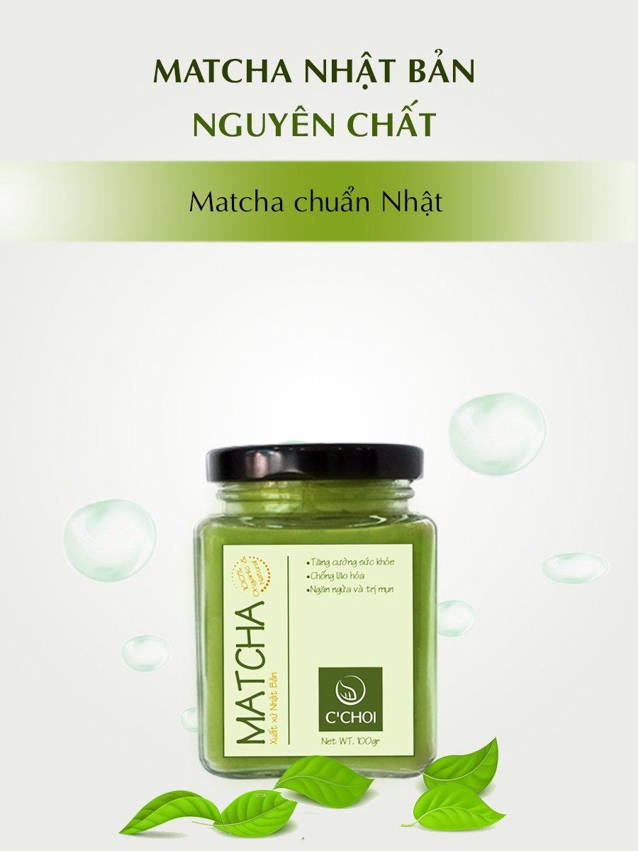 50Gr Bột Trà xanh Matcha Nhật Bản nguyên chất 100% (Mỹ phẩm...