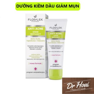 Kem Dưỡng Kiềm Dầu Giảm Mụn FLOSLEK - Floslek Mattifying Cream 50ml thumbnail