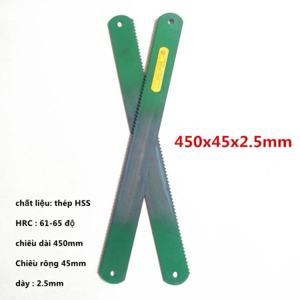 Lưỡi cưa tiện thép gió HSS 450x 45x2.5mm