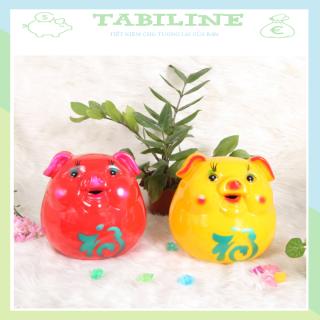 Lợn đất tiết kiệm đựng tiền LẬT ĐẬT cute đẹp giá rẻ TABILINE LD09 thumbnail