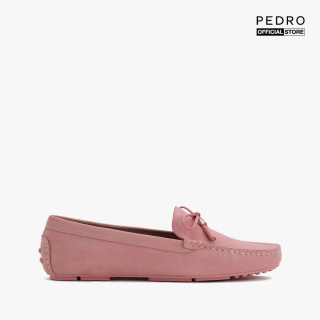 PEDRO - Giày đế bệt nữ phối nơ Leather Bow PW1-65980019-60 thumbnail