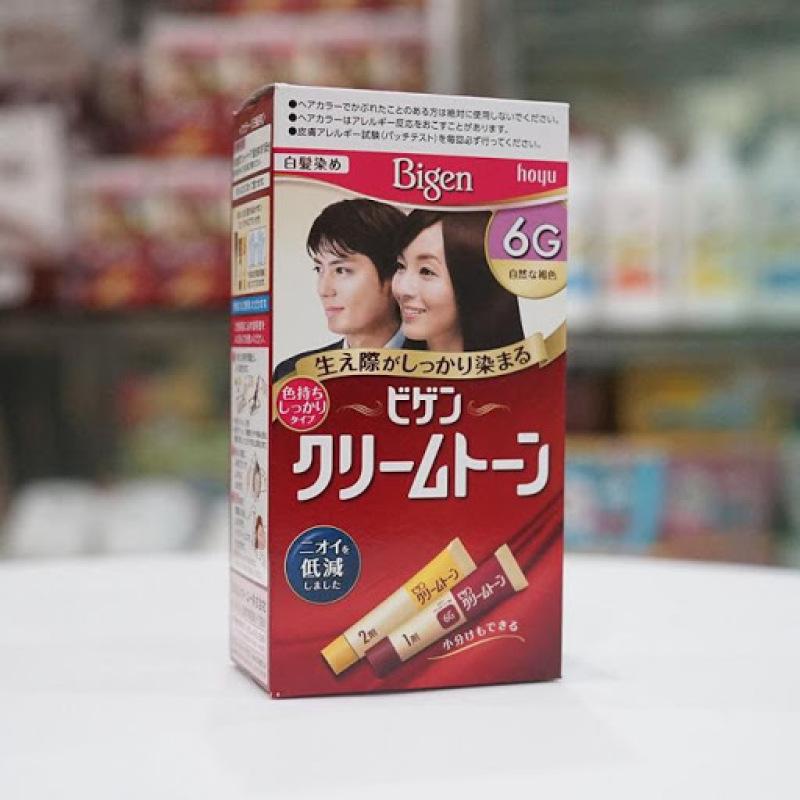 Thuốc nhuộm tóc Bigen 6G- Nhật Bản nhập khẩu