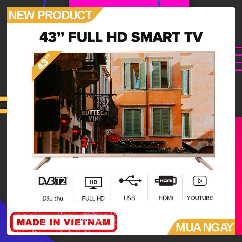 Bảng giá Smart Tivi Asanzo 43 inch Full HD - Model 43AS560 (Android, Truyền Hình KTS) - Bảo Hành 2 Năm