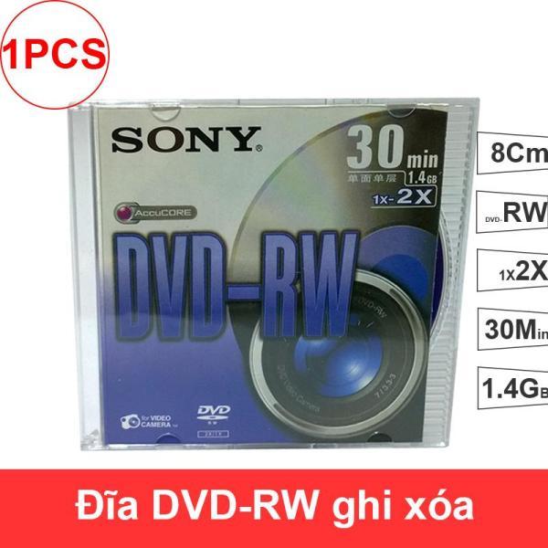 Bảng giá Đĩa trắng DVD-RW Sony 1X2X 30min 1.4GB 8Cm - Đĩa DVD-RW ghi xóa loại nhỏ 8Cm cho máy quay (1 chiếc) Phong Vũ