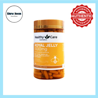 Sữa ong chúa Healthy Care Royal Jelly 1000mg 365 viên thumbnail