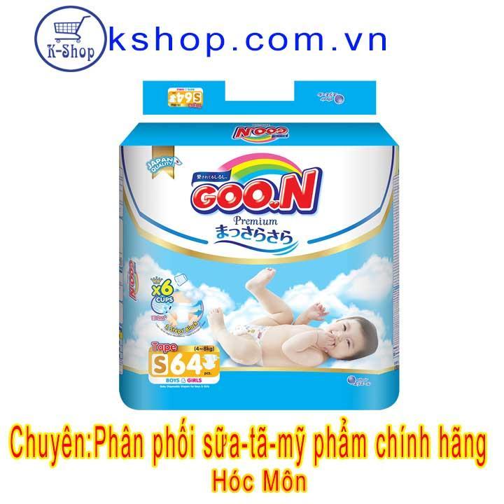 Đủ Size Tã Dán Goo.N Premium NB70 S64 M60 L50 XL46