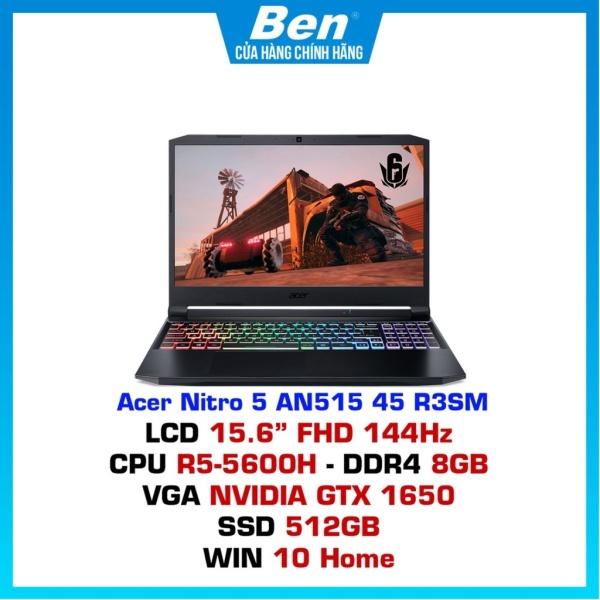 Bảng giá Laptop Acer Nitro 5 AN515-45-R3SM (NH.QBMSV.005)/ Black/ AMD Ryzen R5 5600H (3.20 Ghz, 16 MB)/ RAM 8GB DDR4/ 512GB SSD Phong Vũ
