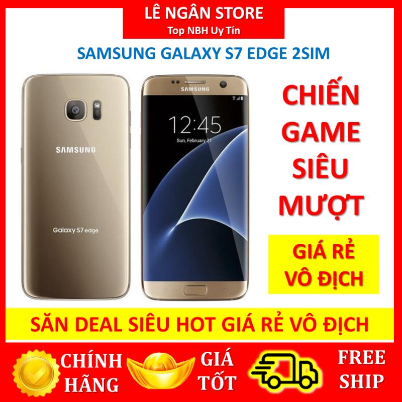 [RẺ VÔ ĐỊCH] Samsung Galaxy S7 EDge (màn hình Cong) 2sim Màu Vàng 32G ram 4G mới CHÍNH HÃNG