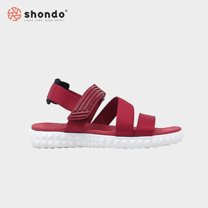 Giày sandals Shondo F6M006 (Đỏ) giá rẻ
