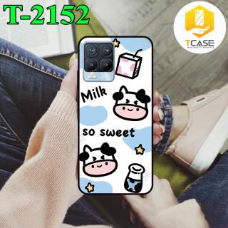 Ốp lưng Tcase dành cho Realme 8 Pro in hình bò sữa thumbnail