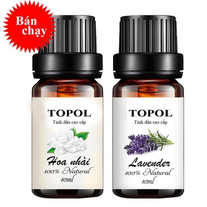Voucher Giảm Giá Combo Tinh Dầu Tinh Dầu Lavender, Tinh Dầu Hoa Lài 10ml