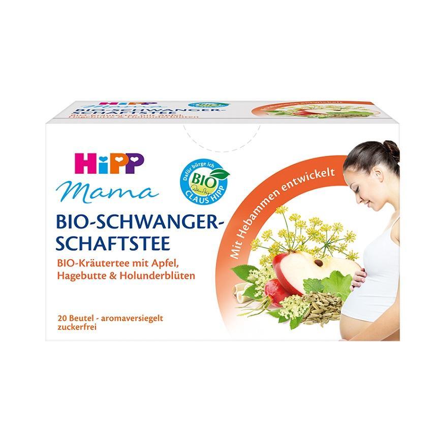 Trà túi nhúng HiPP Mama Organic dành cho mẹ bầu