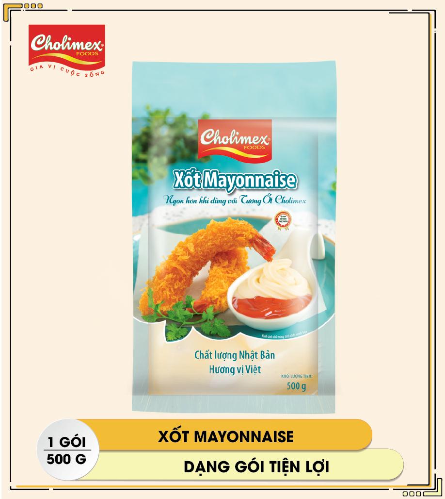 Xốt Mayonnaise gói 500g