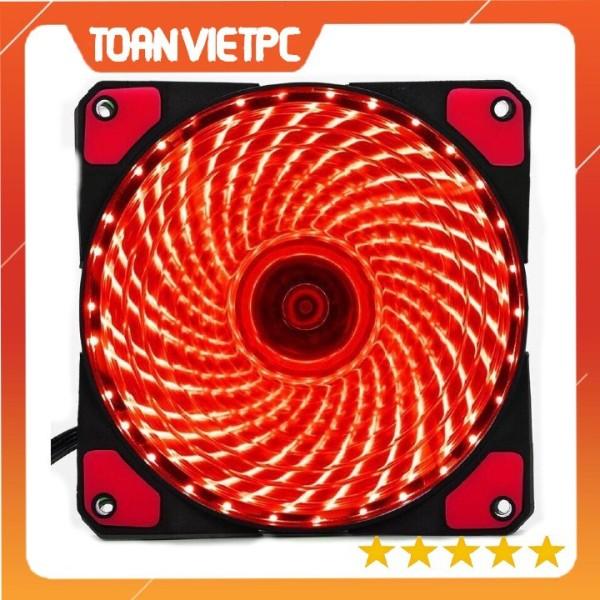 Quạt làm mát cpu, Fan case 33 led màu đỏ